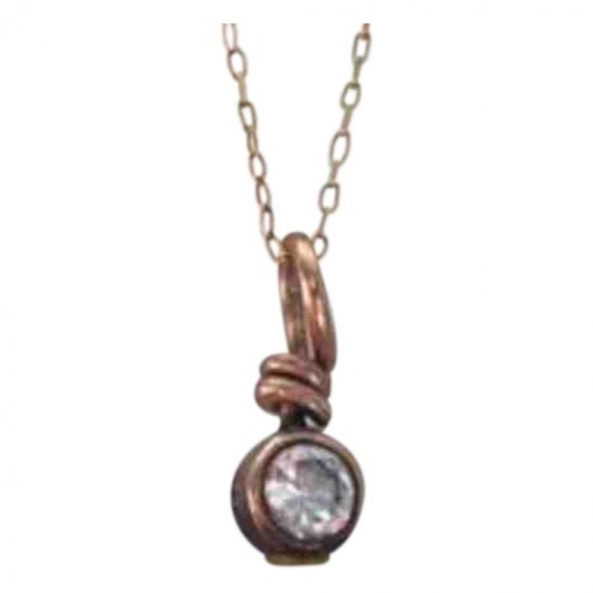 Non Signe / Unsigned Nacre Anhaenger in  Metallic Perle