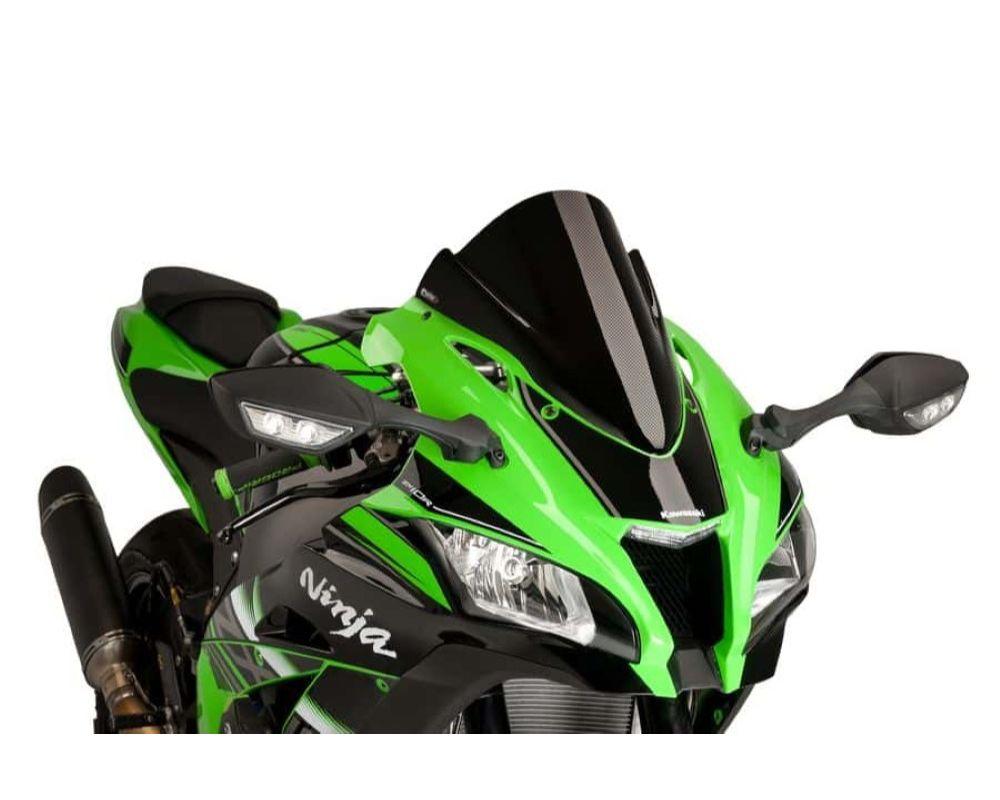 Puig 8912C Z-Racing Windscreen - Carbon Look Kawasaki ZX-10R 2016