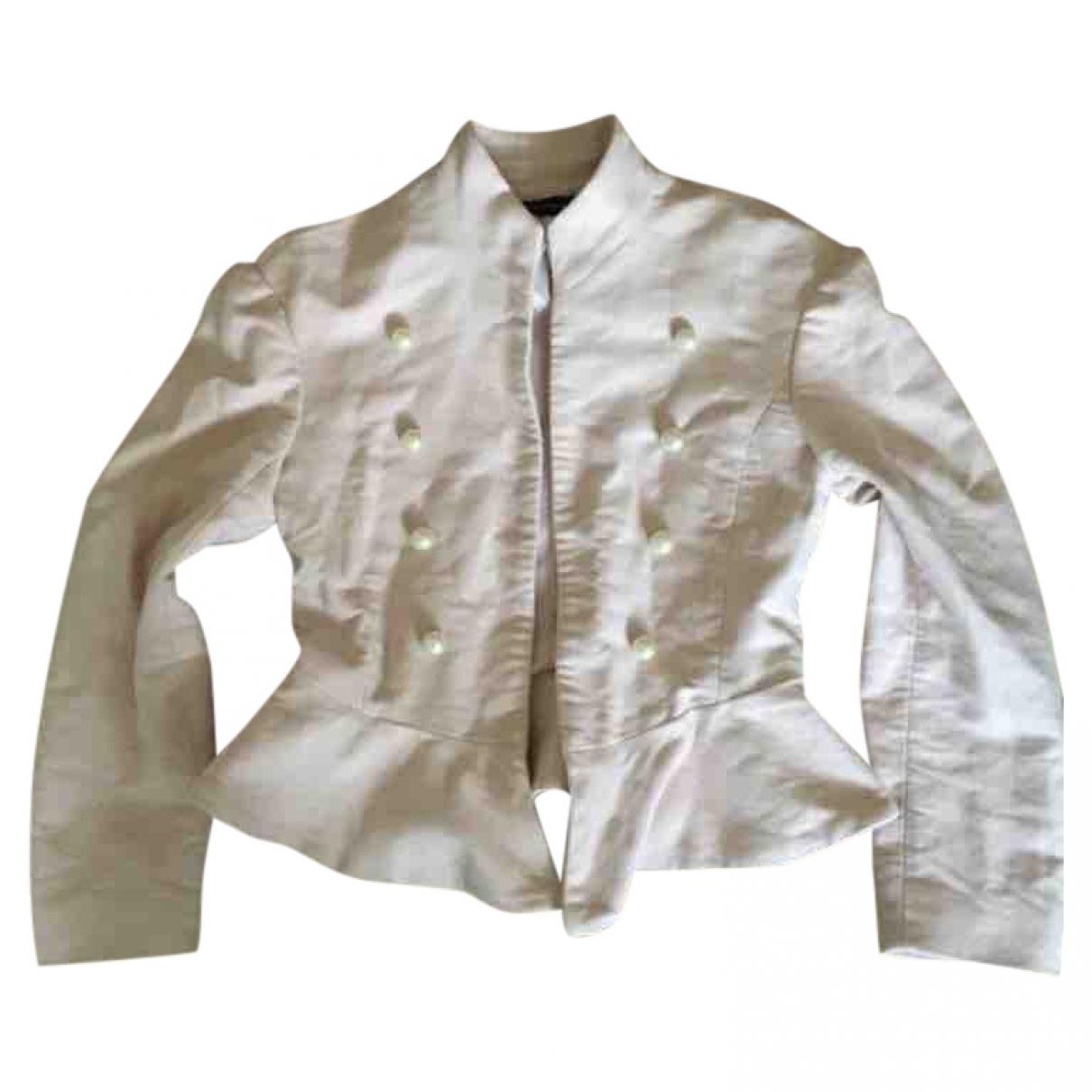 Zara \N Pink Cotton jacket for Women XS International