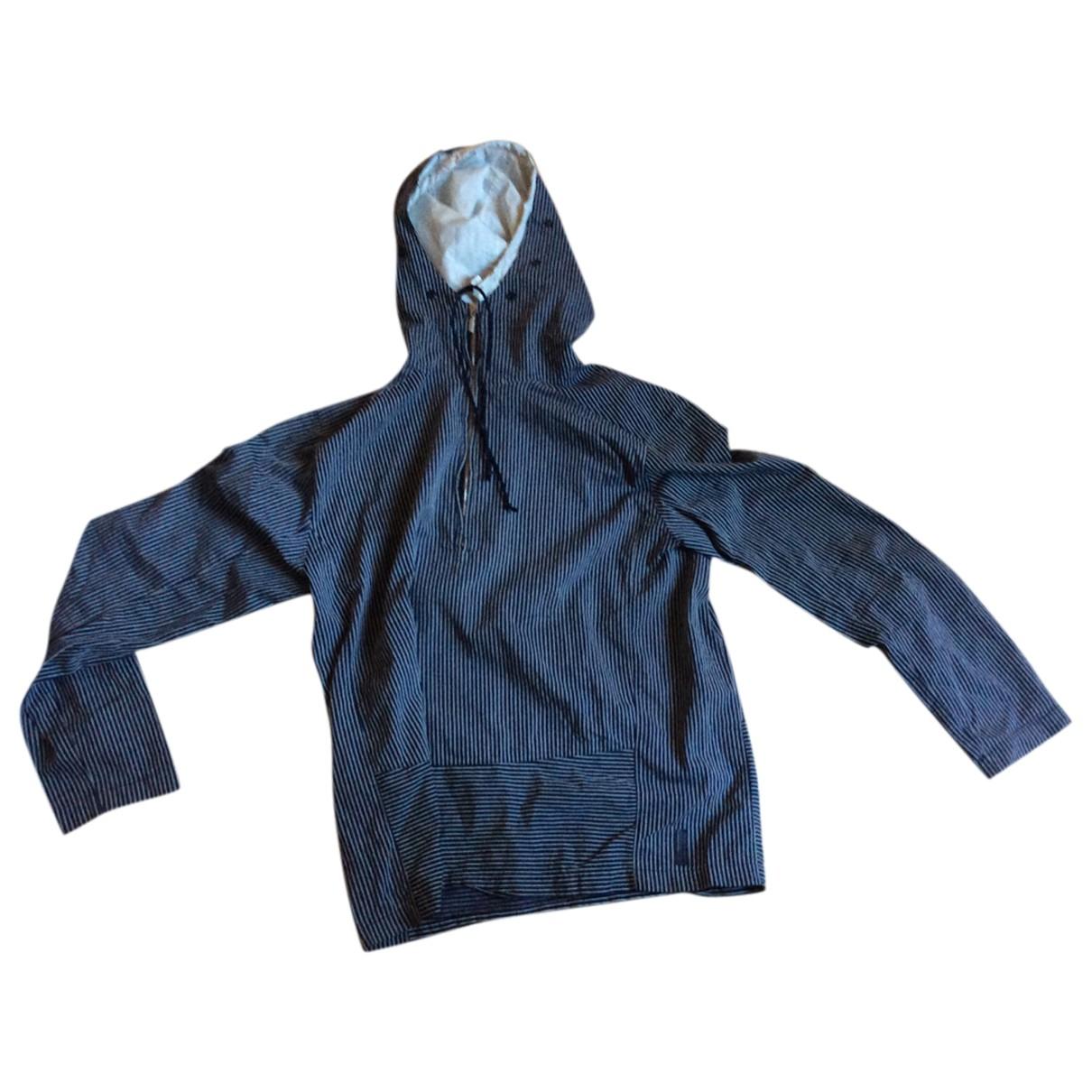 Giorgio Armani - Vestes.Blousons   pour homme en coton - bleu