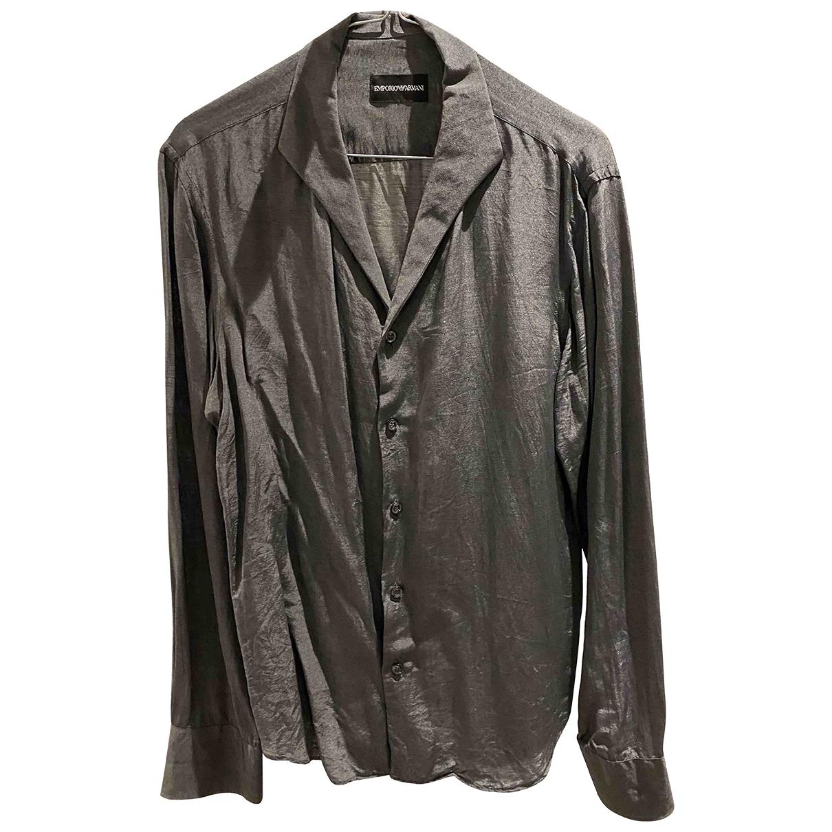 Emporio Armani \N Grey Shirts for Men M International