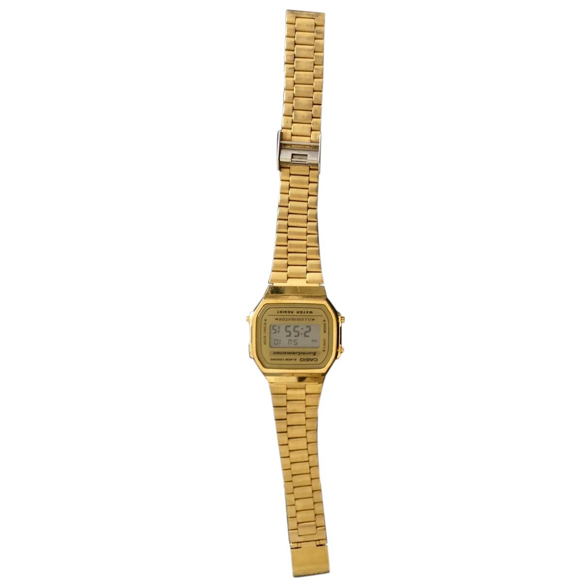 Relojes de Oro amarillo Casio