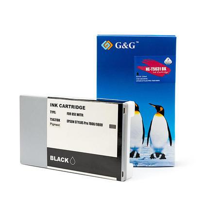 Compatible Epson Stylus Pro 9800 Ink Epson T563100 T562100 Photo Black Pigment