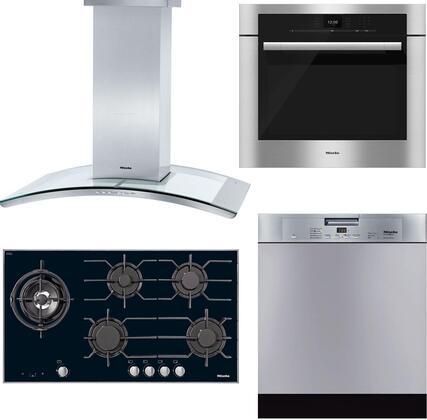 4-Piece Stainless Steel Kitchen Package with KM3054G 37