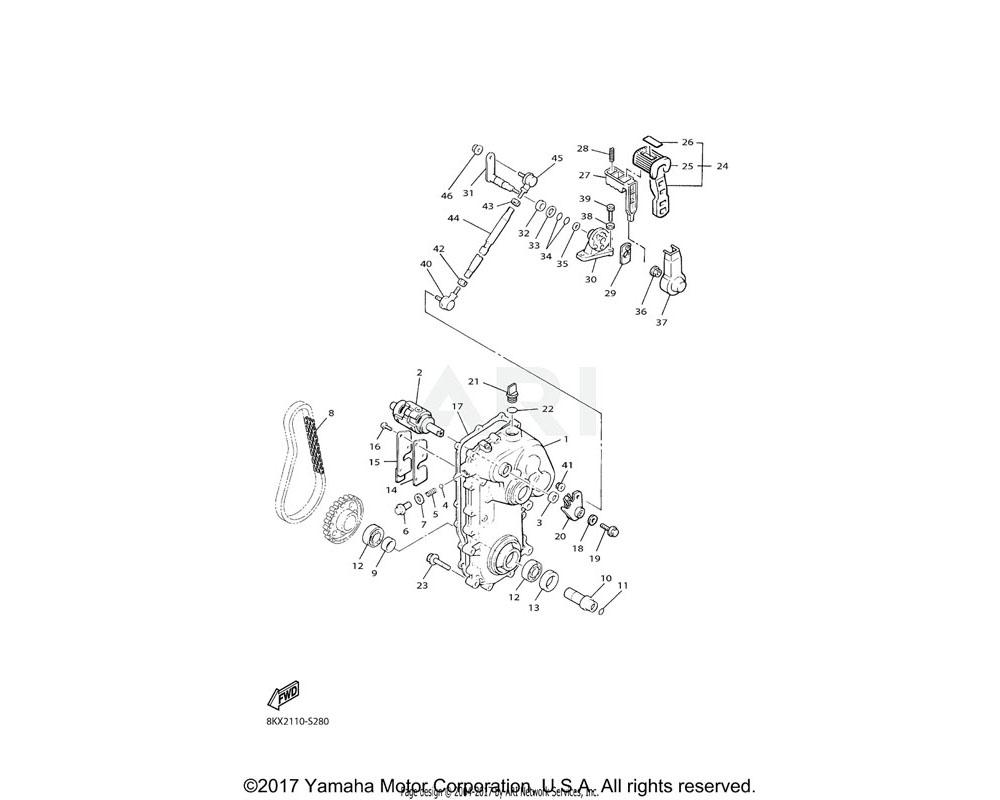 Yamaha OEM 88N-47591-00-00 PLATE