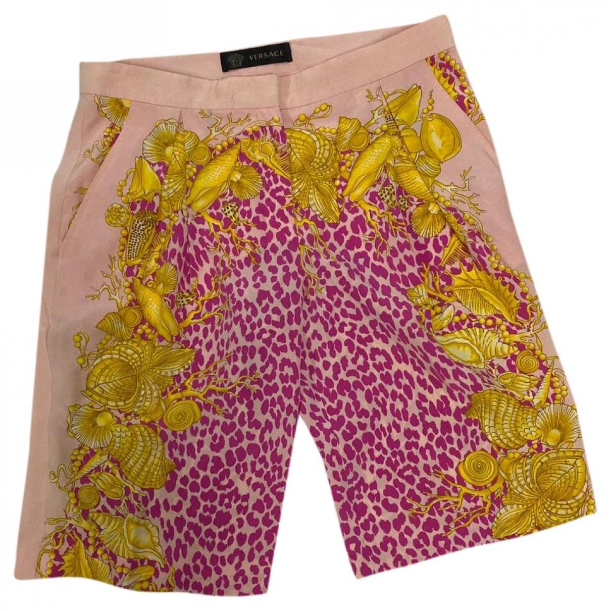 Versace \N Shorts in  Bunt Seide