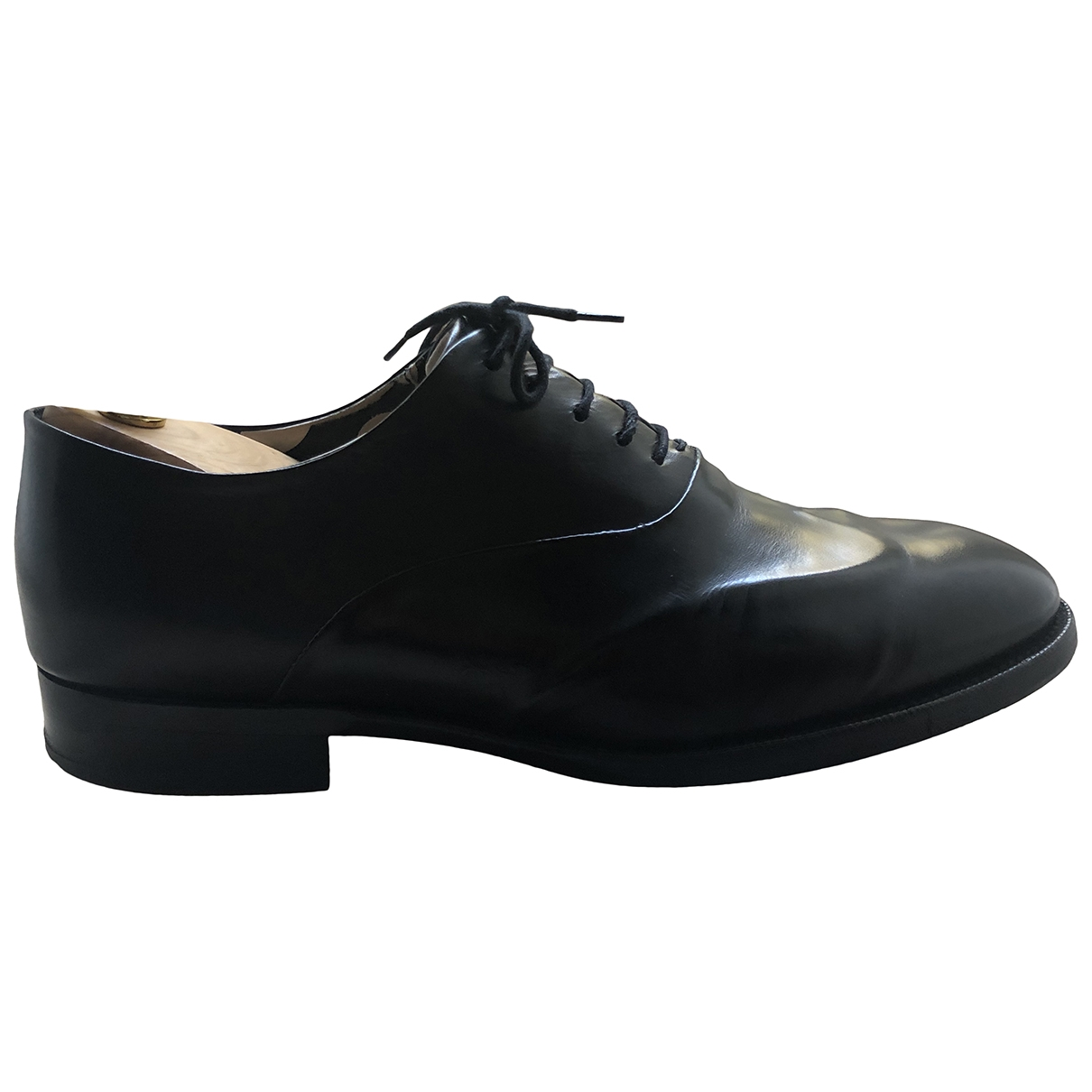 Paul Smith \N Black Leather Lace ups for Men 43 EU