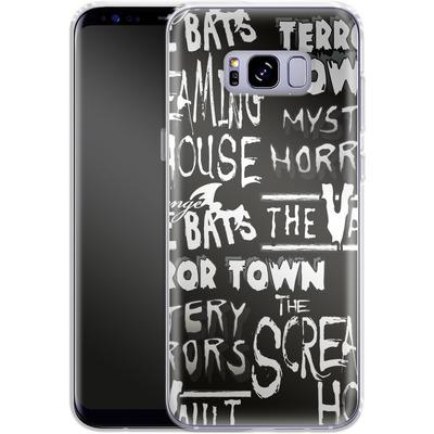 Samsung Galaxy S8 Plus Silikon Handyhuelle - Terror Town Patterns von caseable Designs