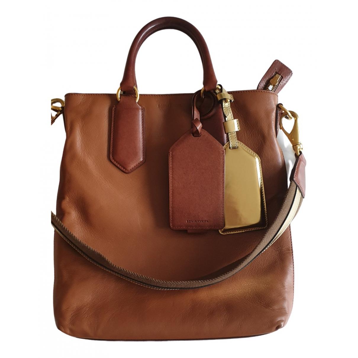 Sonia Rykiel \N Handtasche in  Kamel Leder