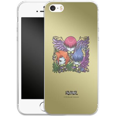 Apple iPhone 5s Silikon Handyhuelle - Harpie Lady Sisters SD von Yu-Gi-Oh!