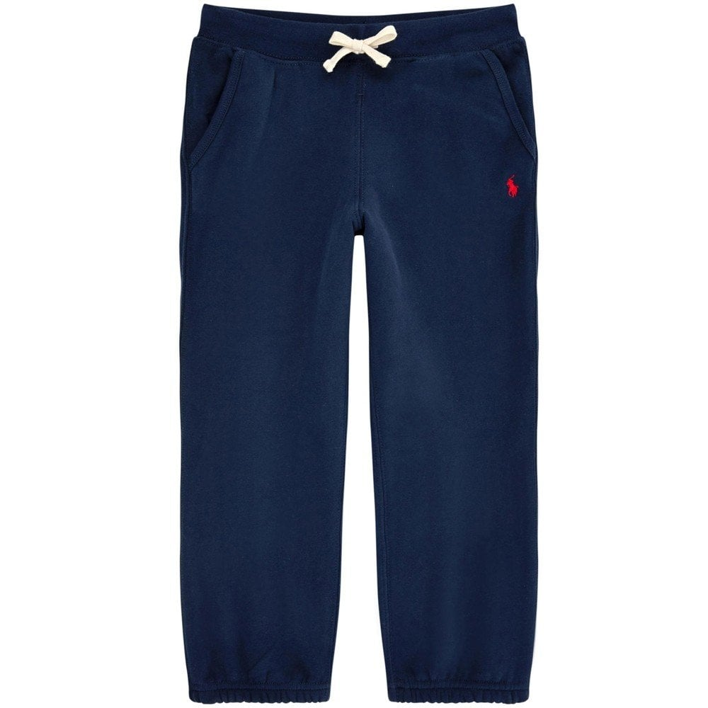 Ralph Lauren Kids Logo Tracksuit Pants Navy Colour: NAVY, Size: 18-20 YEARS
