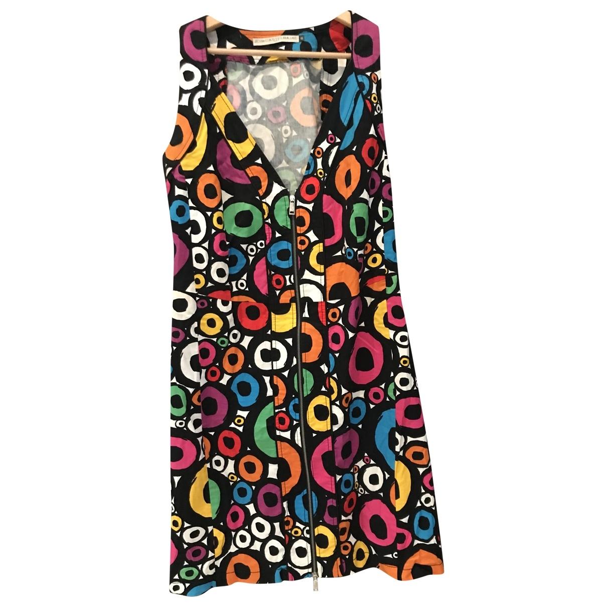Jc De Castelbajac \N Kleid in  Bunt Baumwolle - Elasthan