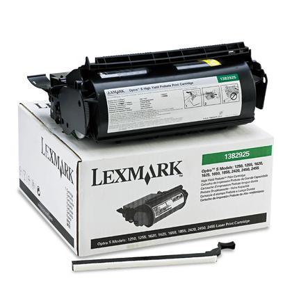 Lexmark 1382925 cartouche de toner du programme retour originale noire haute capacité