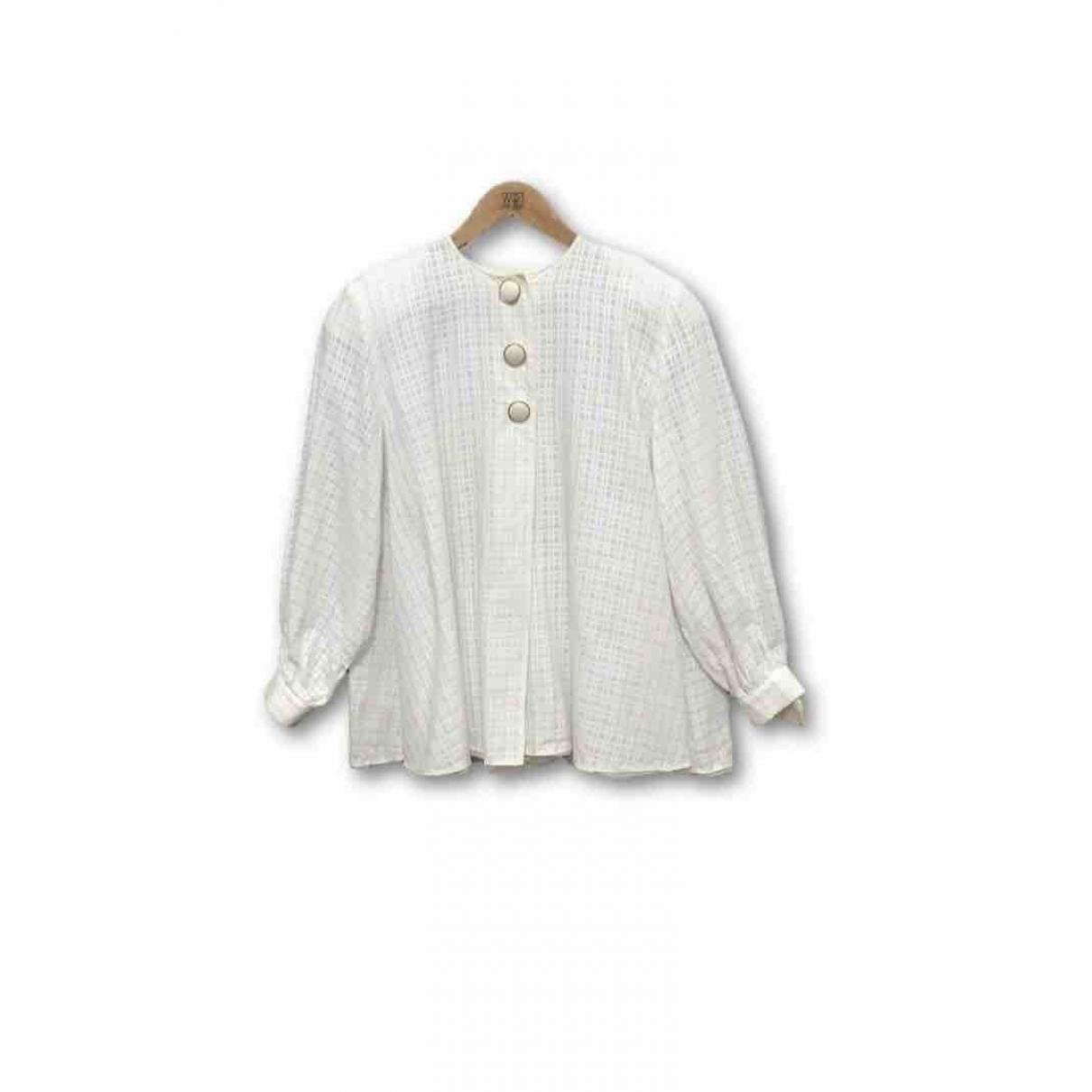 Dior \N White Cotton  top for Women M International