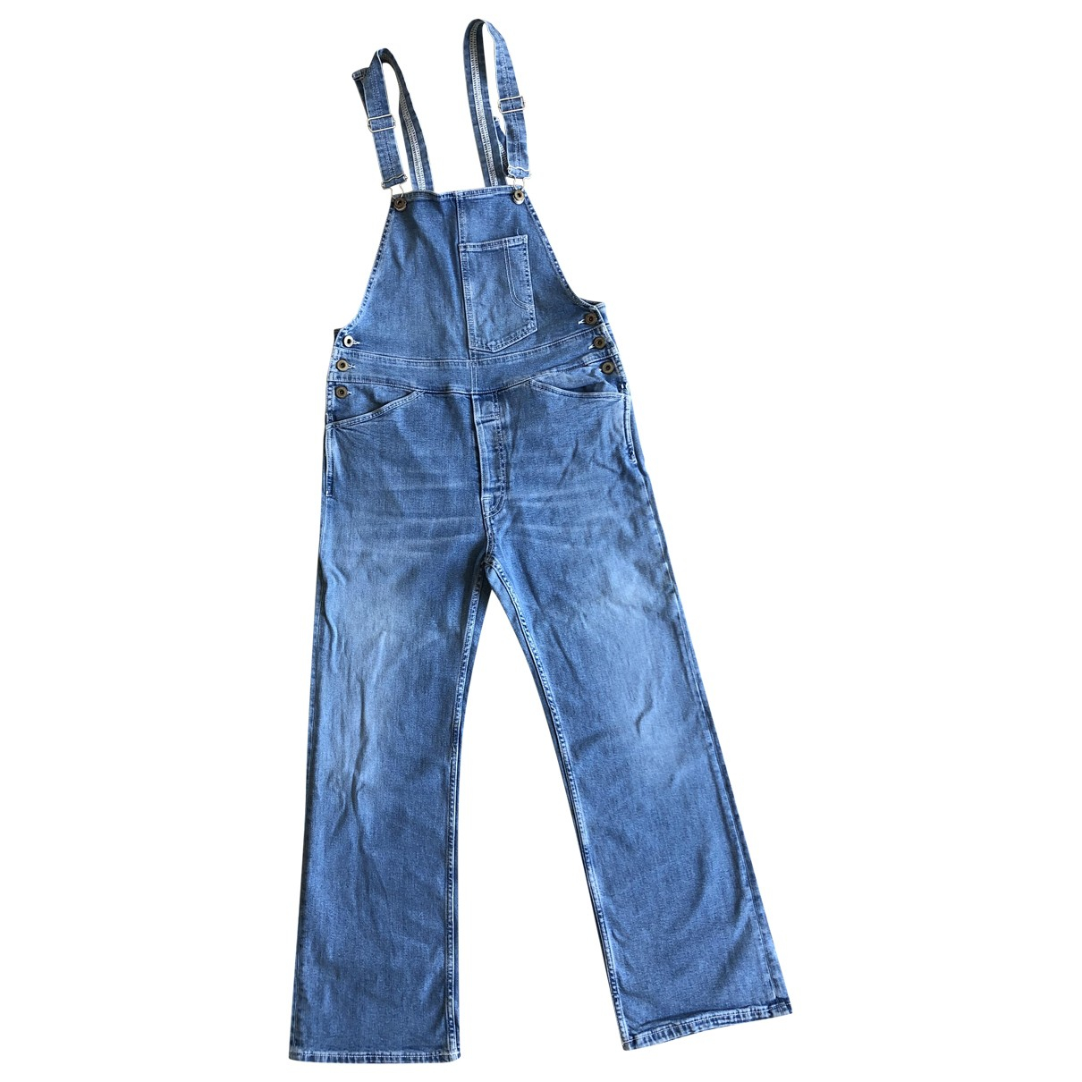 Dondup \N Jumpsuit in  Tuerkis Denim - Jeans