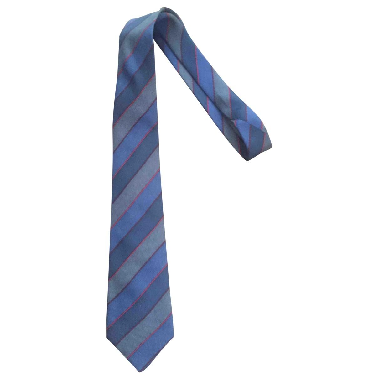 Rochas \N Blue Silk Ties for Men \N