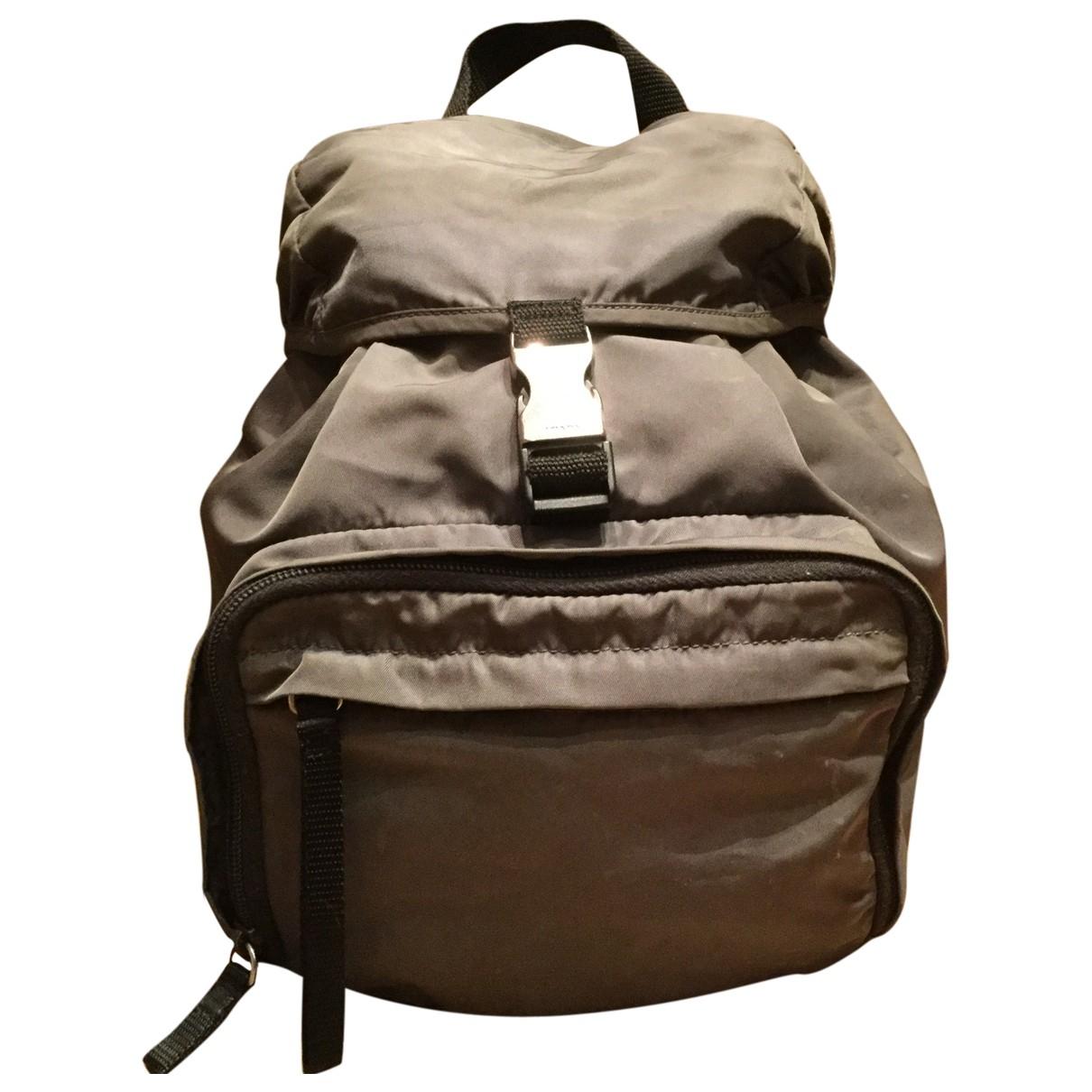 Prada \N Cloth backpack for Women \N