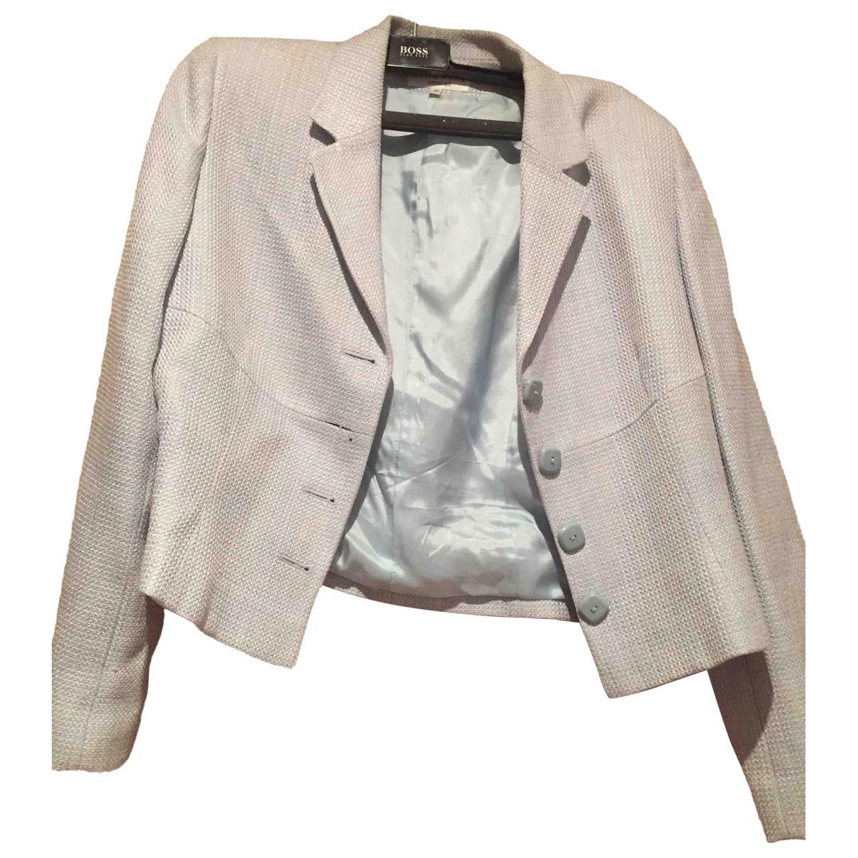 Georges Rech \N Blue Linen jacket for Women 42 FR