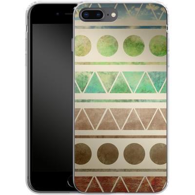 Apple iPhone 8 Plus Silikon Handyhuelle - Transition von Terry Fan
