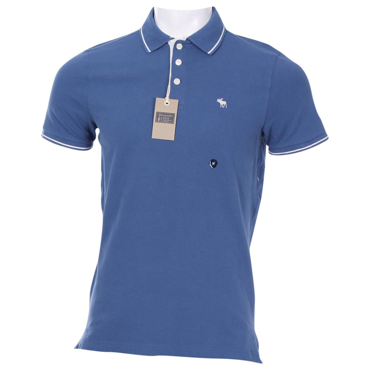 Abercrombie & Fitch \N Poloshirts in  Blau Baumwolle