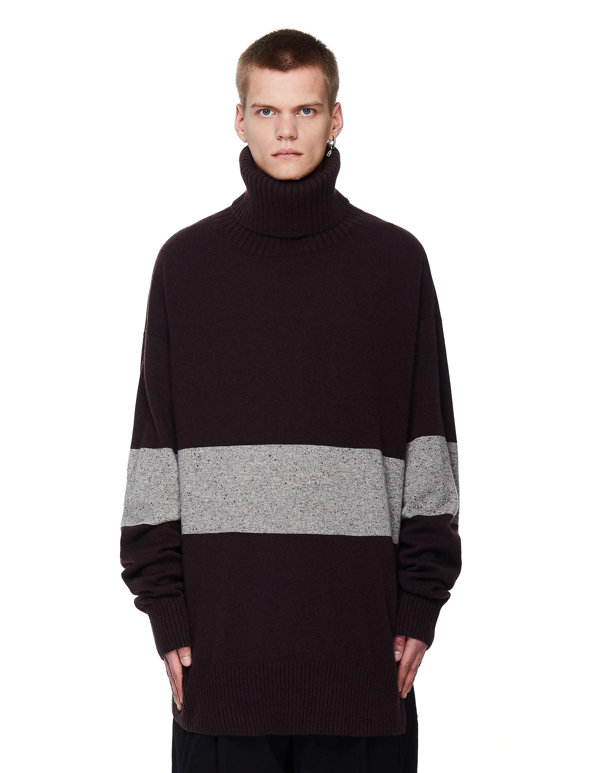 Ziggy Chen Cashmere Stripped Sweater