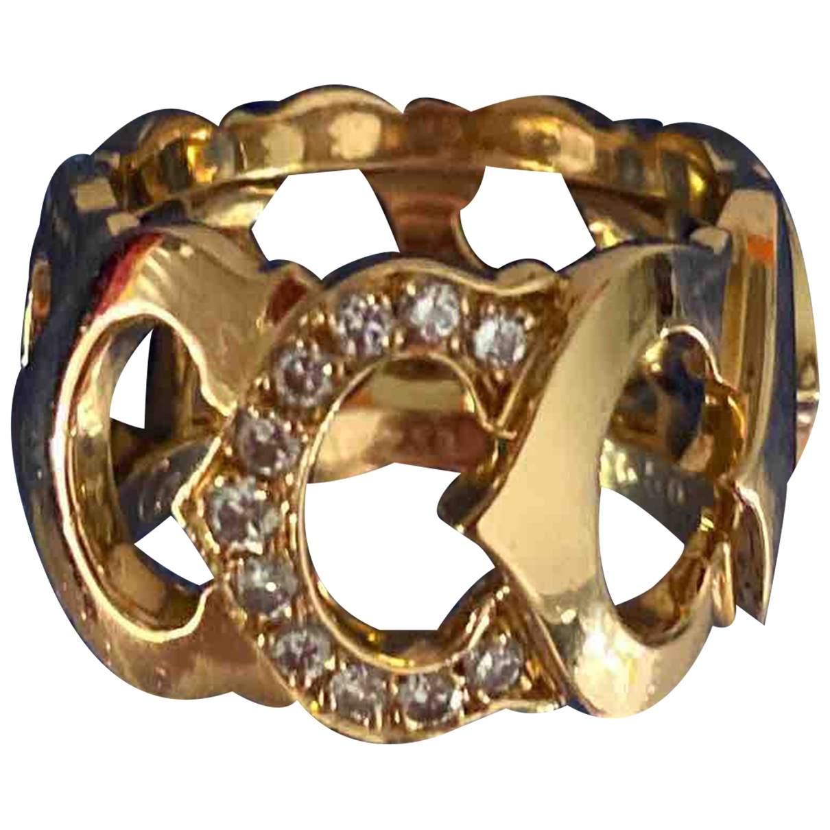 Cartier C Ring in  Gold Gelbgold