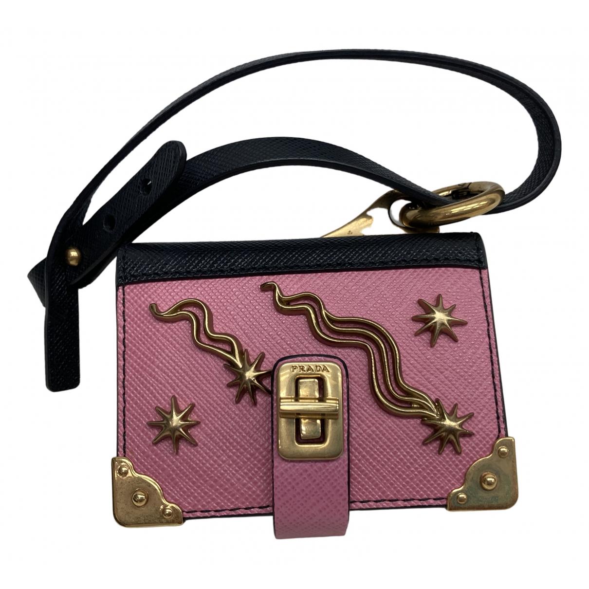 Prada \N Accessoires und Dekoration in  Rosa Leder