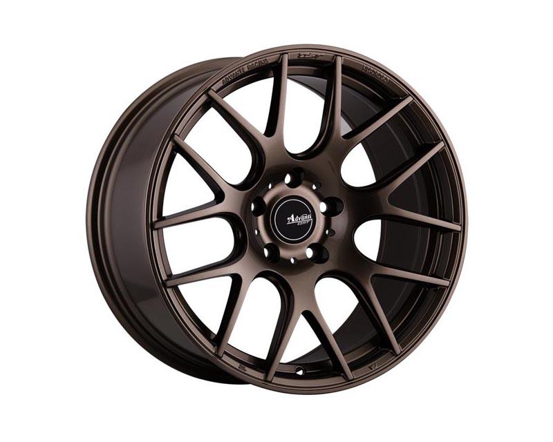 Advanti Racing Vigoroso V1 Wheel 18x8.5 5x114.3 43 BZGLXX Gloss Bronze