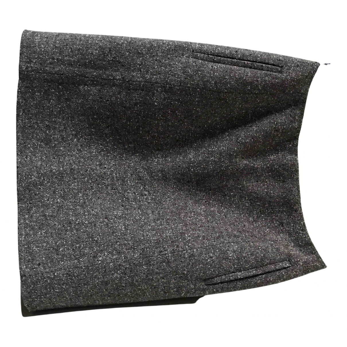 Balenciaga \N Rocke in  Braun Wolle