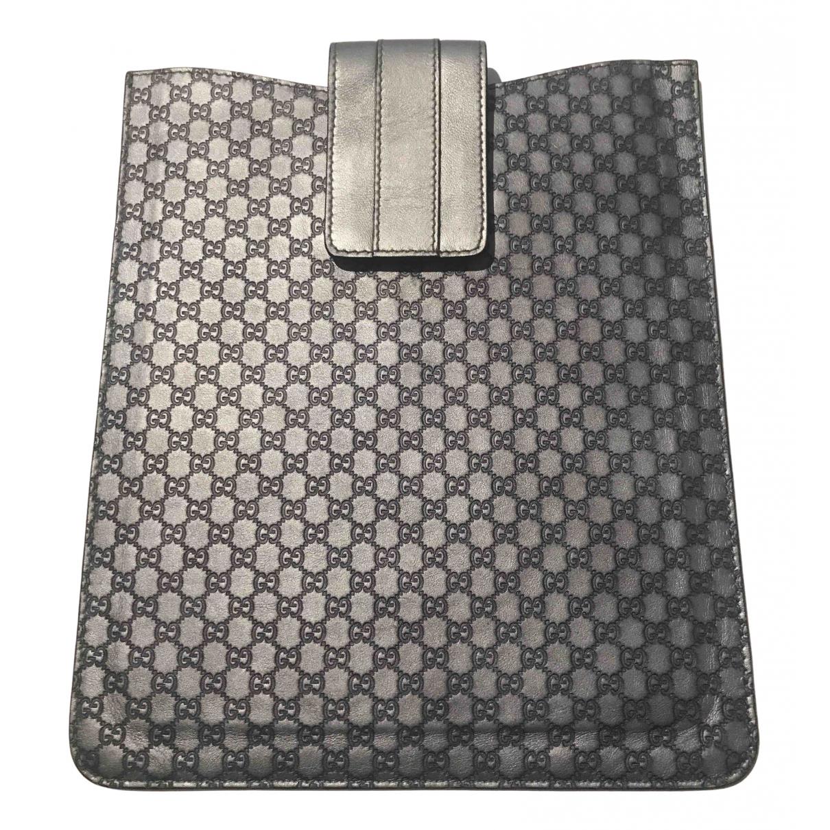 Gucci - Accessoires   pour lifestyle en cuir - gris