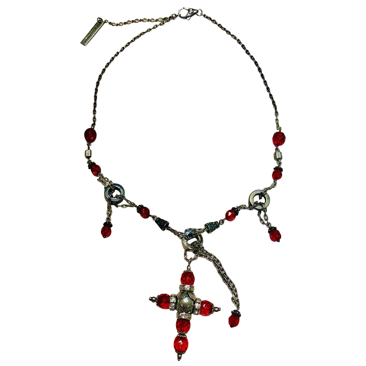 Dolce & Gabbana \N Red Metal necklace for Women \N