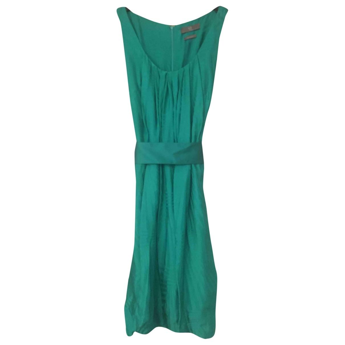 Mcq - Robe   pour femme en soie - vert