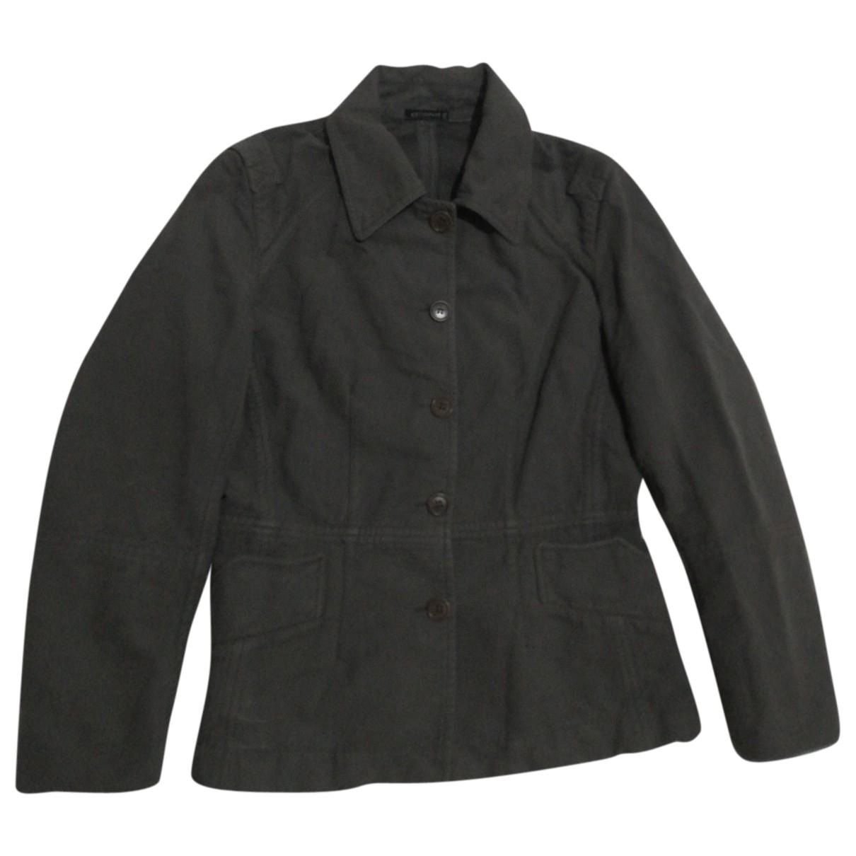 Cp Company - Veste   pour femme en coton - gris