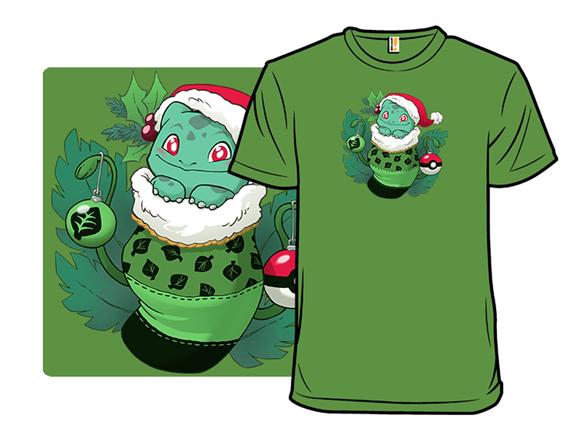 Plant Monster Stocking Stuffer T Shirt