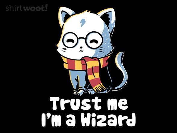 Trust Me, Im A Wizard T Shirt