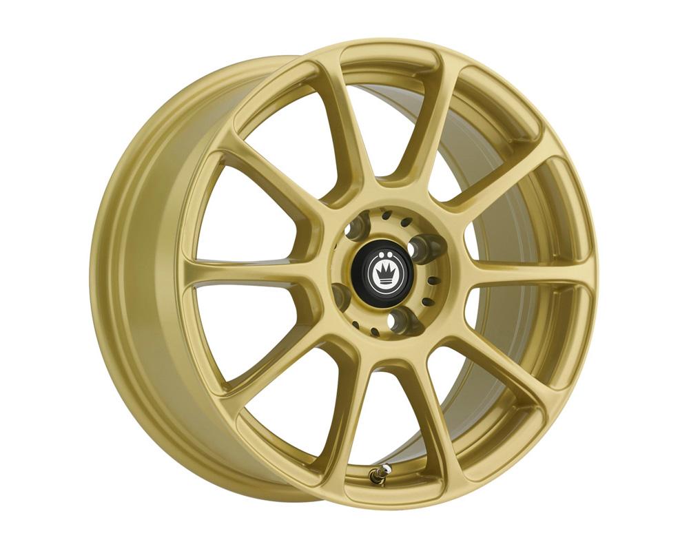 Konig Runlite Gold Wheel 17x7.5 4x100 45