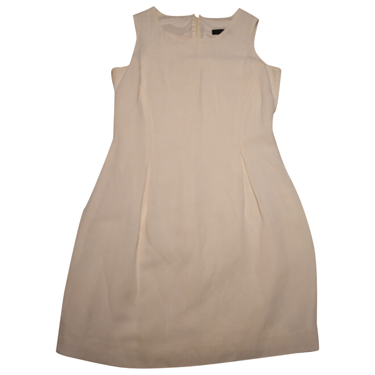Adolfo Dominguez \N Ecru Linen dress for Women 38 FR