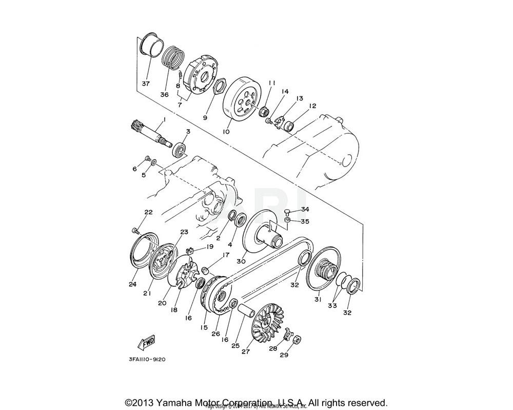 Yamaha OEM 4CW-E7653-00-00 SLIDER