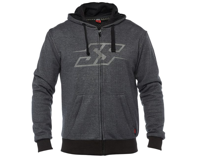 Speed and Strength 885066 Resistance Armored Hoody Charcoal MD