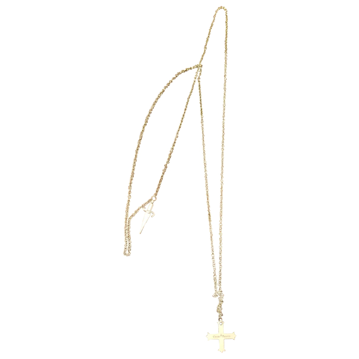 Cesare Paciotti \N Silver Steel necklace for Women \N