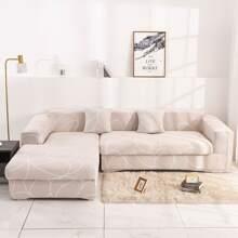 Funda de sofa elastica con linea
