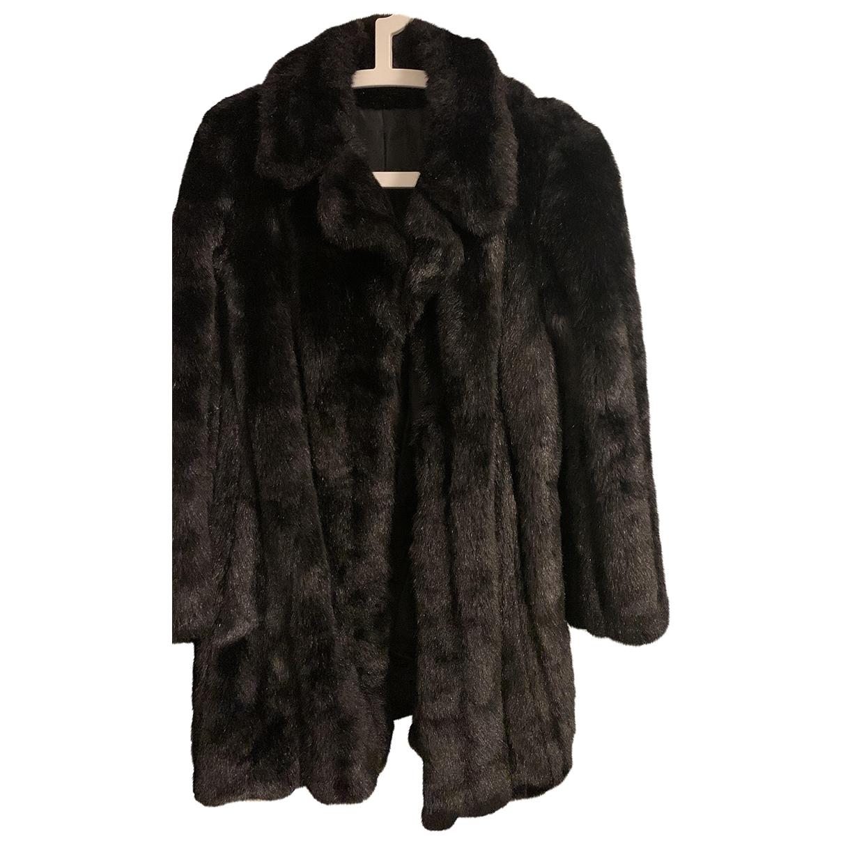 Non Signé / Unsigned \N Black coat for Women M International