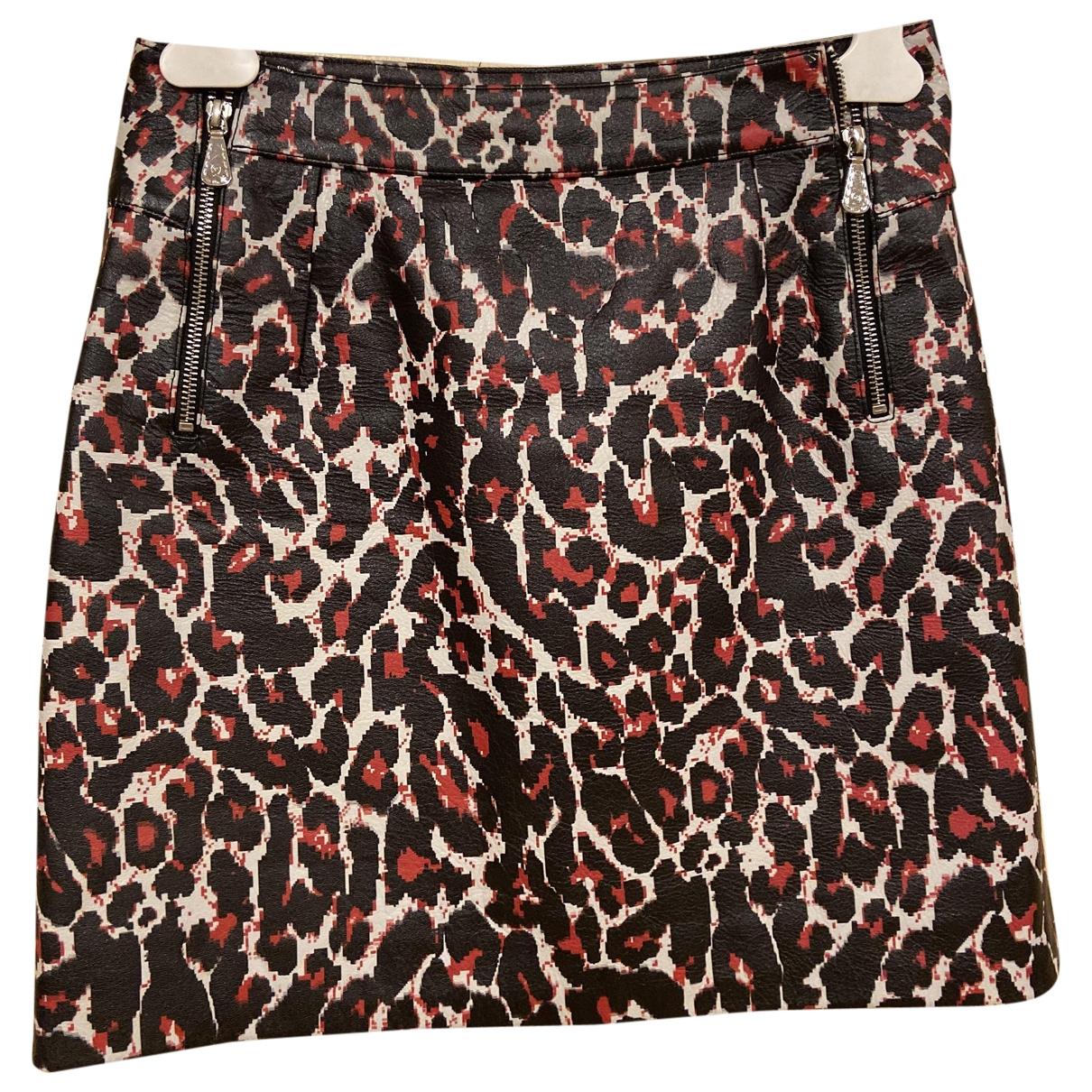 Mini falda de Cuero Mcq