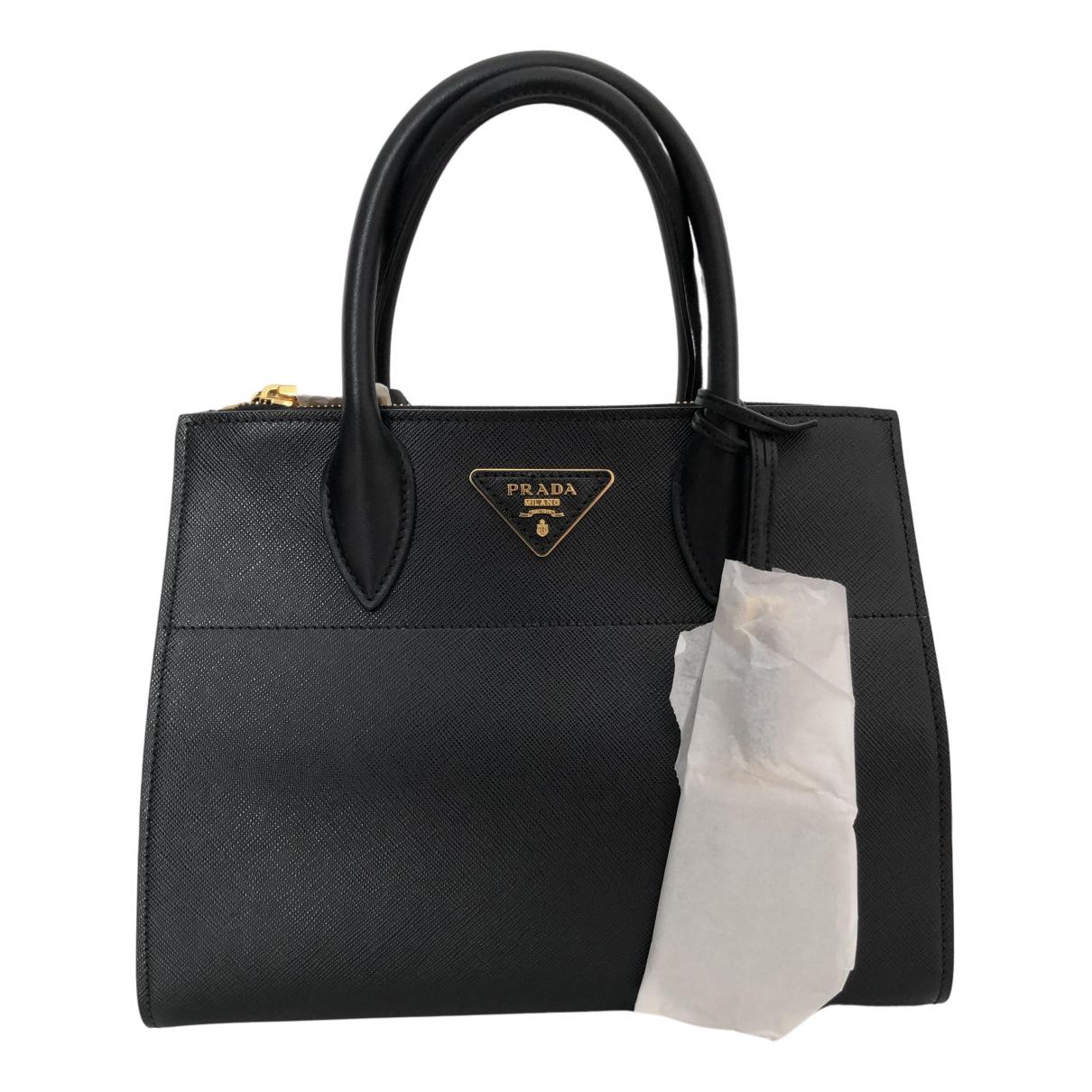 Prada Esplanade Black Leather handbag for Women N