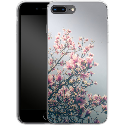Apple iPhone 8 Plus Silikon Handyhuelle - She Bloomed Everywhere She Went von Joy StClaire