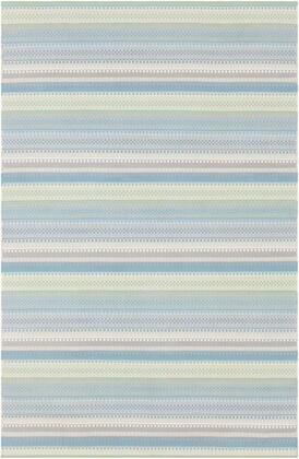 MTM1009-23 2' x 3' Rug  in Denim and Sage and Ivory and Taupe and Medium Gray and