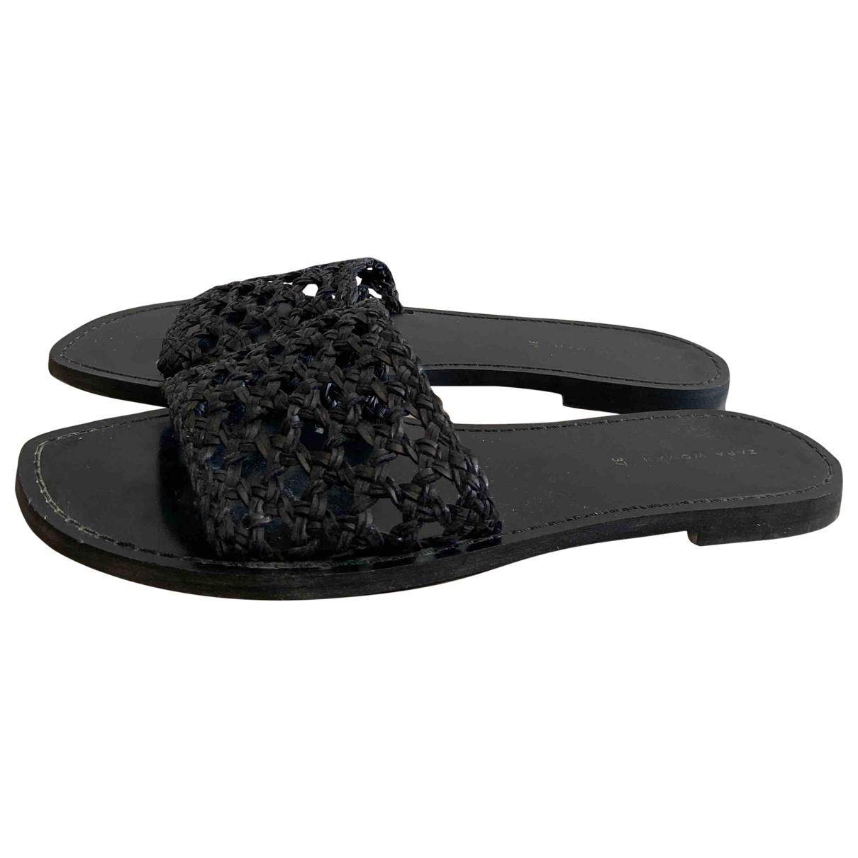 Zara - Sandales   pour femme - noir