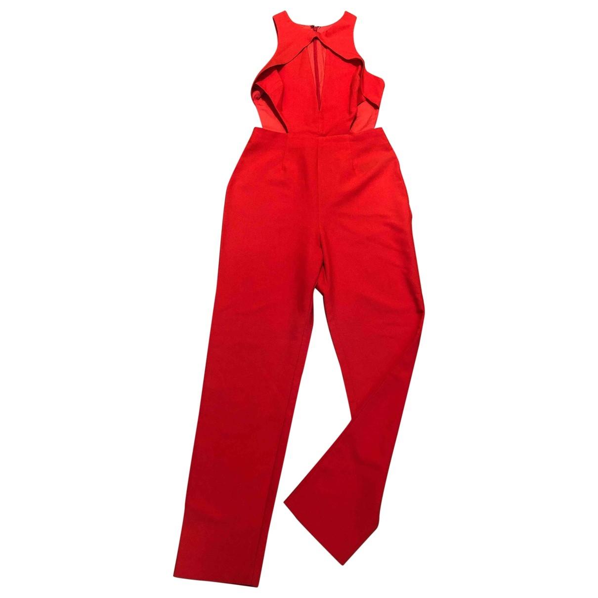 Asos \N Jumpsuit in  Orange Polyester