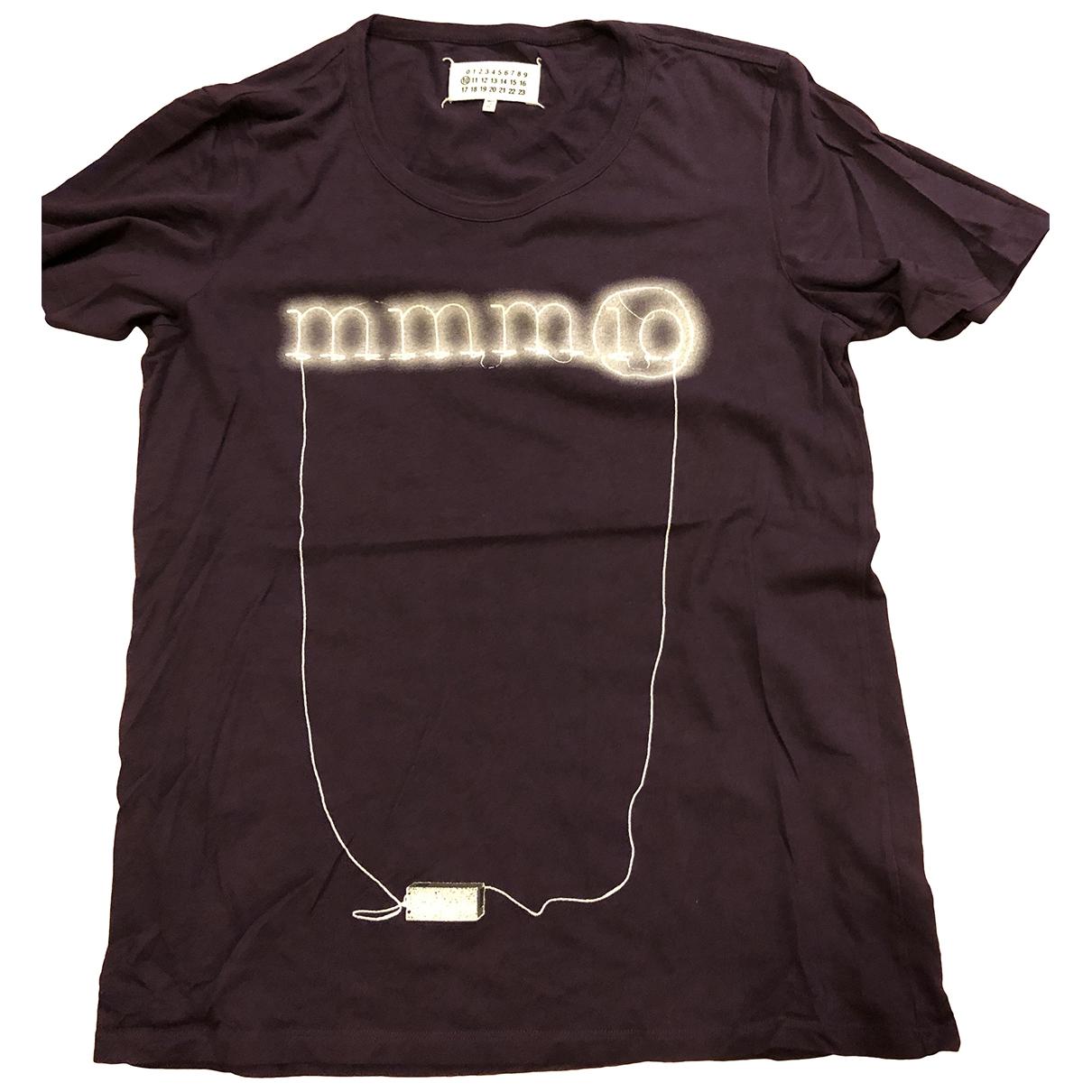 Maison Martin Margiela \N T-Shirts in  Lila Baumwolle