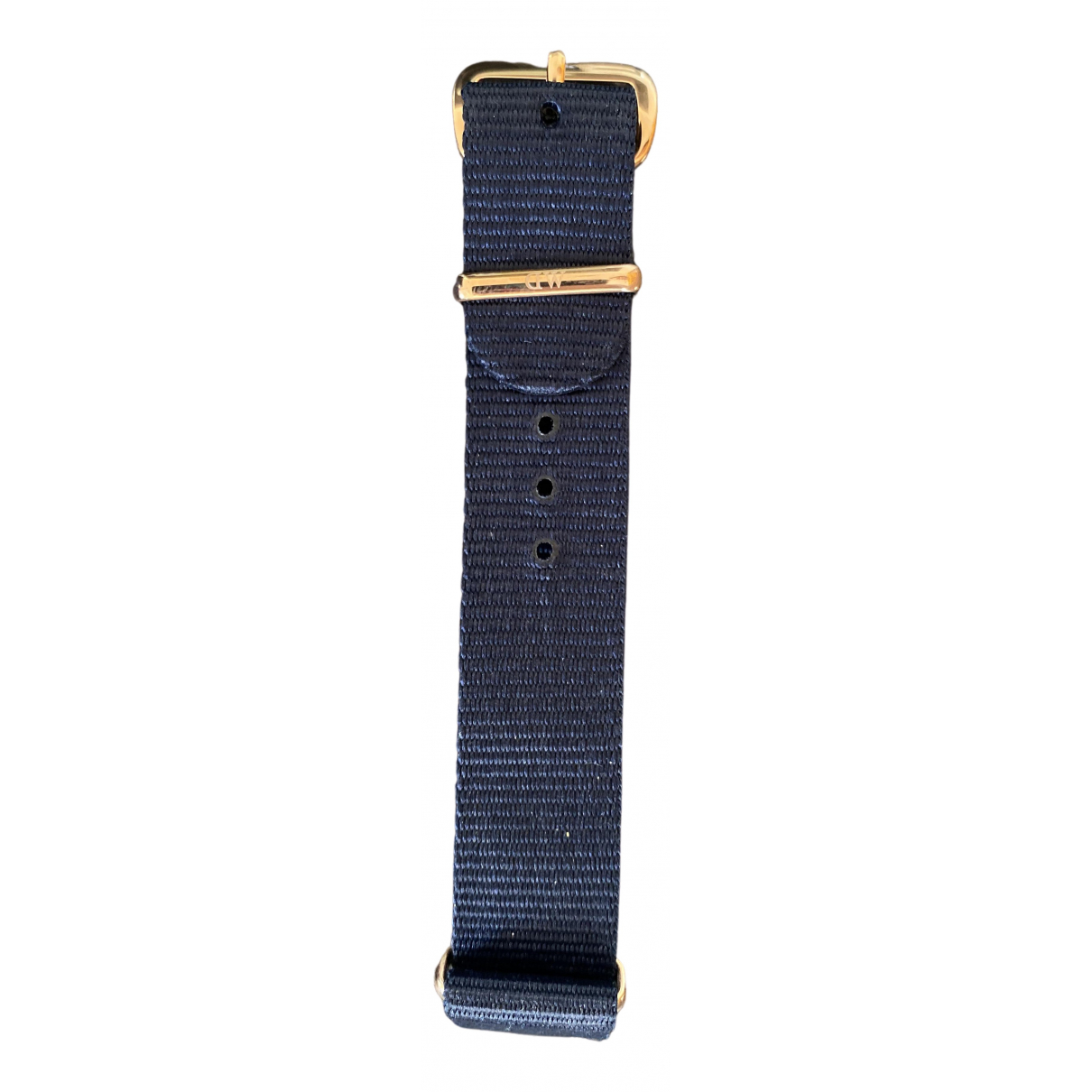 Daniel Wellington \N Navy Cloth watch for Women \N